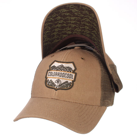 Colorado Fourteener Snapback Hat - Curved Trucker Mesh