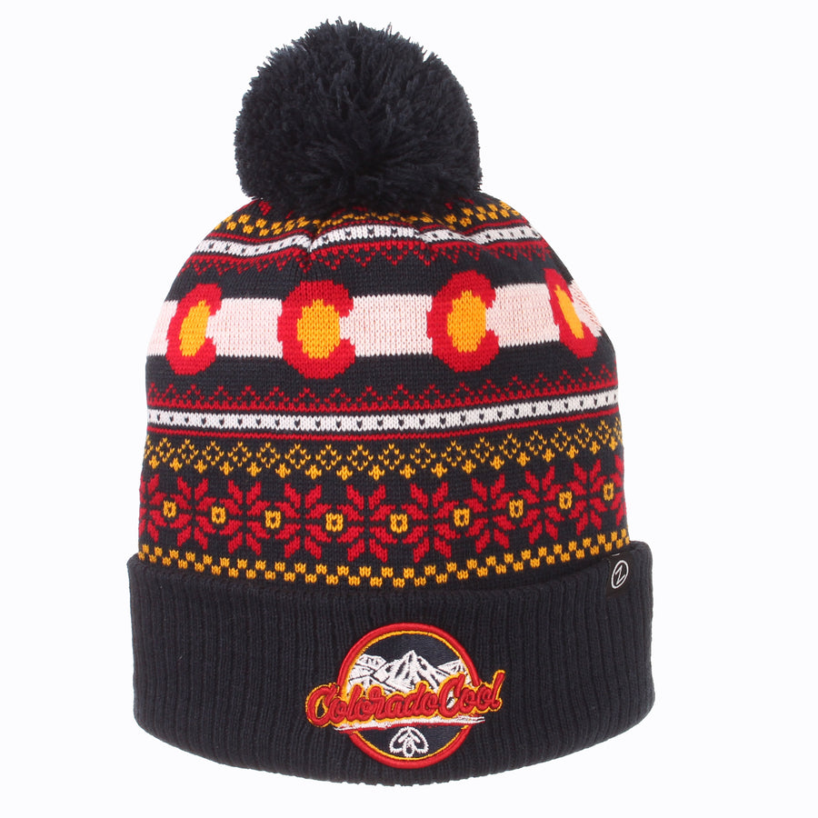 ColoradoCool Apparel Colorado Flag Beanie