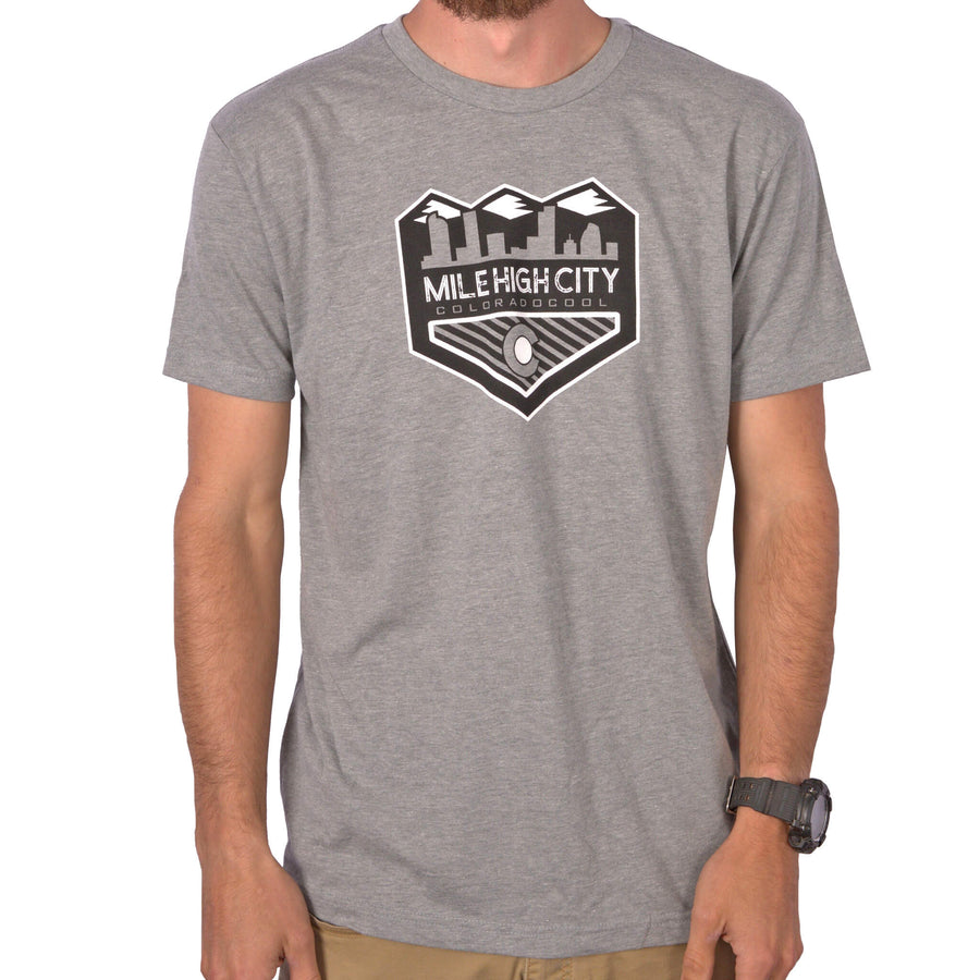 Mile High City T-Shirt - Gray