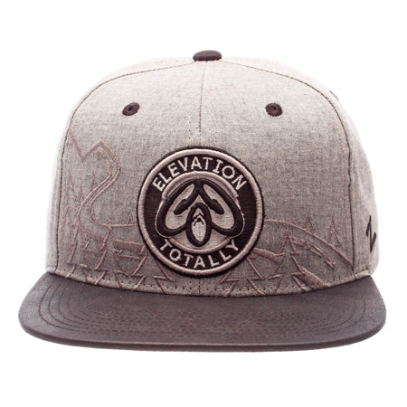Colorado Snapback Hat Pine Trees