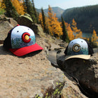 Scenic Route Colorado Hat - Navy/Red