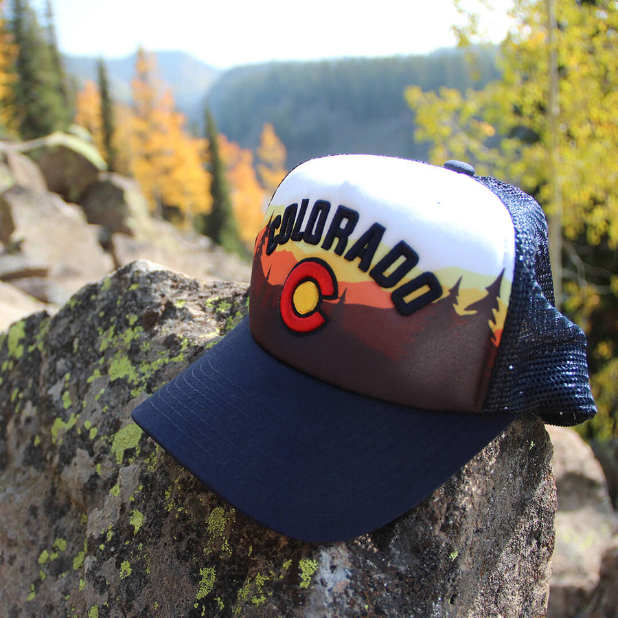 Sunrise Foam Trucker Hat