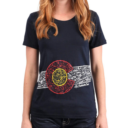 Women's Colorado Flag T-shirt