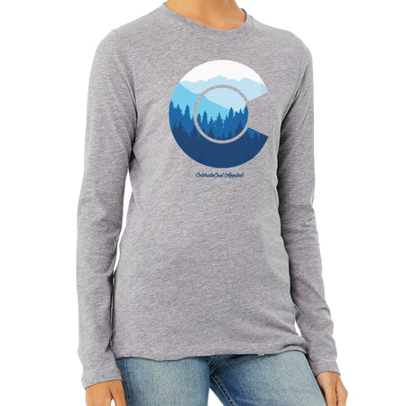 Womens Colorado Flag LongSleeve