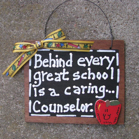 Teacher Gift  81C  Behind Every Great School is a Caring Counselor