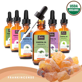 100% Pure and Natural Organic Frankincense Essential Oil
