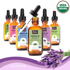 100% Pure and Natural Therapeutic Grade Lavender Essential Oil