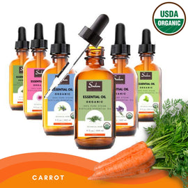 Pure Organic High Quality Therapeutic Grade Carrot Essential Oil
