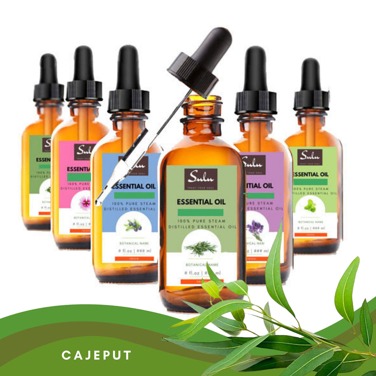 100% Pure and Natural Steam Distilled Cajeput Essential Oil