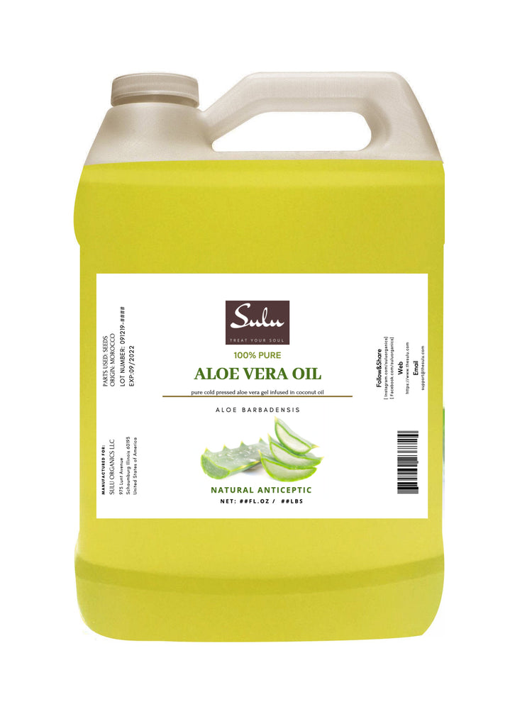 7 lbs 100% Pure and  All Natural Aloe Vera Oil