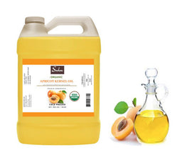 4 Lbs Fresh Organic Apricot Kernel oil cold pressed 100% pure oil from