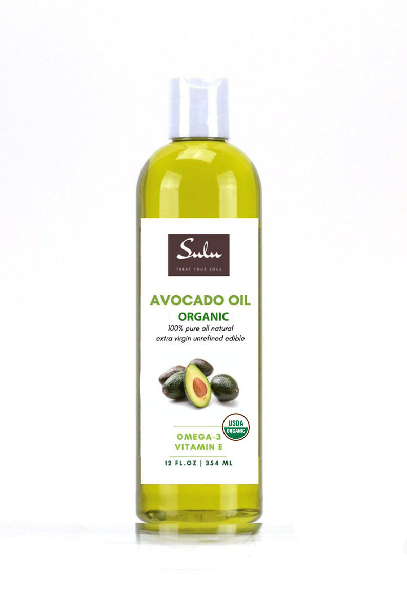 ORGANIC UNREFINED AVOCADO OIL