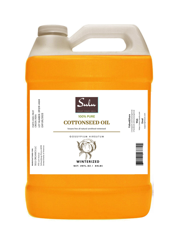 7 lbs 100% Pure  Winterized Cottonseed Oil All Natural