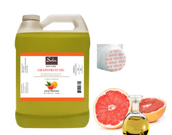 4 LBS Organic Cold Pressed Extra Virgin Grapefruit Seed Oil All Natural Premium Quality
