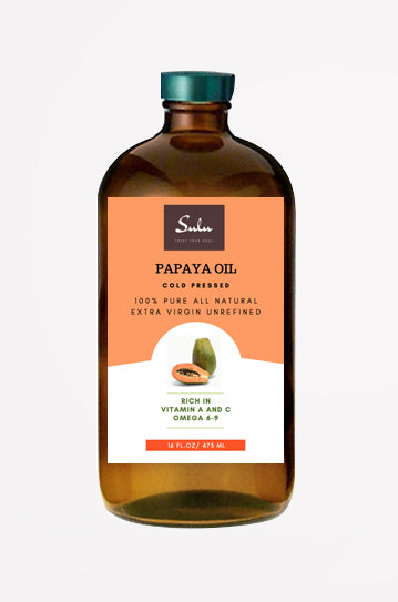 100% PURE  EXTRA VIRGIN UNREFINED COLD PRESSED PAPAYA SEED OIL