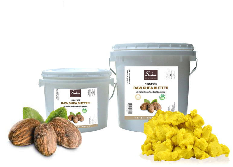 High Quality Raw Unrefined  Gold Yellow African Shea Butter