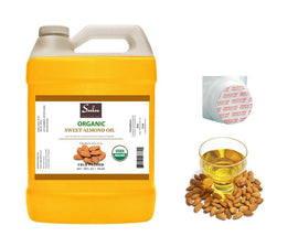 4 lbs 100% Pure Sweet Almond oil organic high quality Fresh Unrefined Virgin Sweet Almond oil