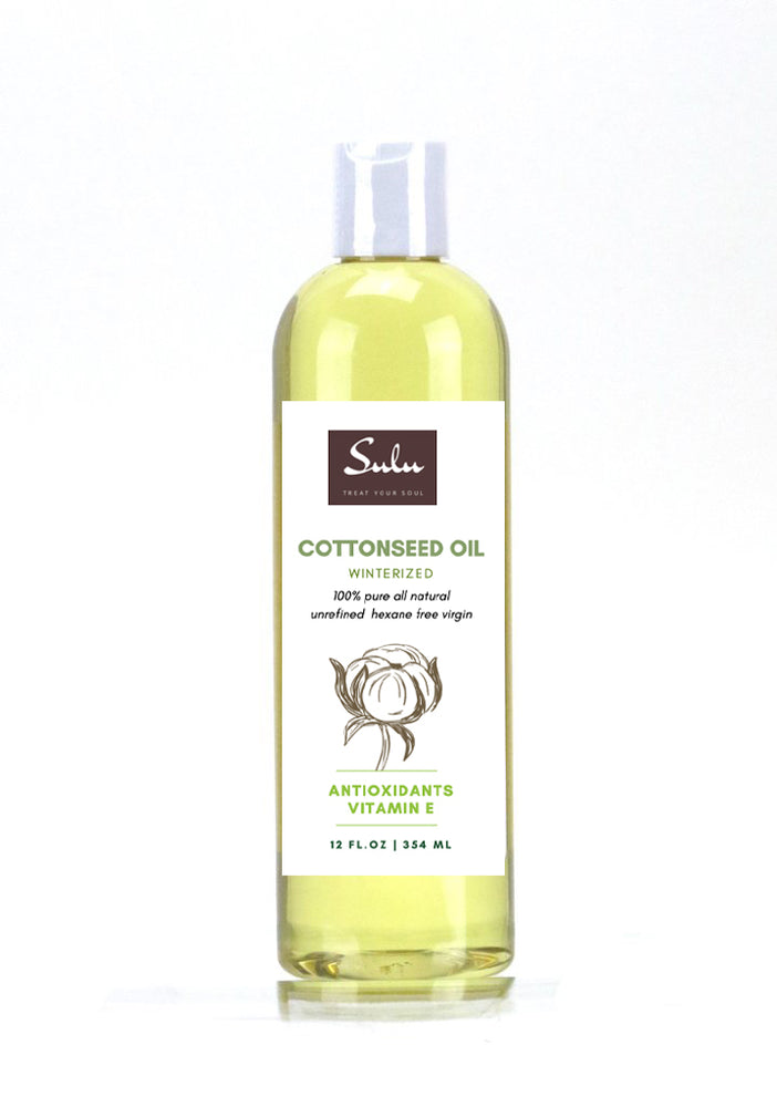 100% Pure Winterized Cottonseed Oil All Natural from 4 oz up to 7 lbs