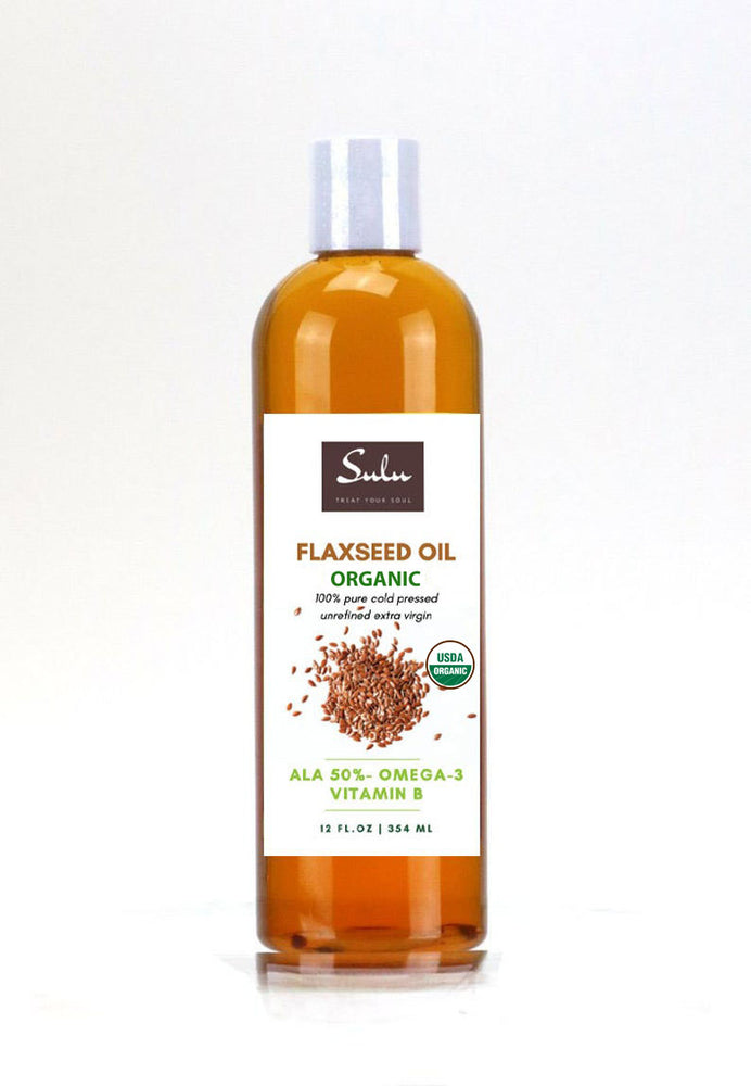 ORGANIC FLAXSEED OIL ALA 50%