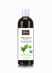 ORGANIC PURE COLD PRESSED HEMP SEED OIL