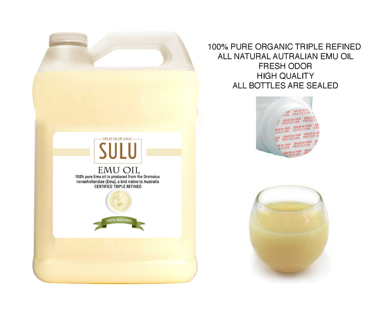 7 lbs  100% Natural High Quality Pure Australian Emu Oil