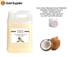 4 LBS Coconut Oil 92 Degree 100% pure coconut oil extracted from coconut meat