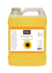 1 Gallon Refined Cosmetic Grade Sunflower seed oil