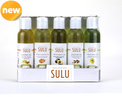 Set of 5 Cold Pressed High Quality Natural Moisturizing Oils for Face Hair and Body