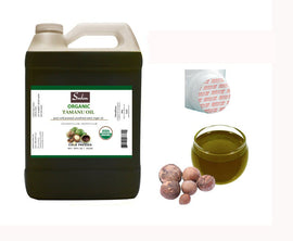 1 Gallon Tamanu Oil- High Quality Foraha 100% Pure Organic Unrefined Virgin