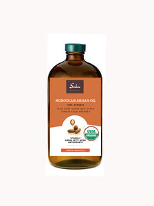 100% ALL ORGANIC MOROCCAN ARGAN OIL ALL NATURAL COLD PRESSED OIL