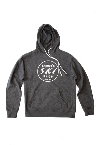 The Staple Hoody Lite - Heather Charcoal