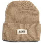 100% acrylic knit beanie in beige featuring twill Bled label on the front. Waffle Beanie, skateboarding, skateboards, hype, streetwear