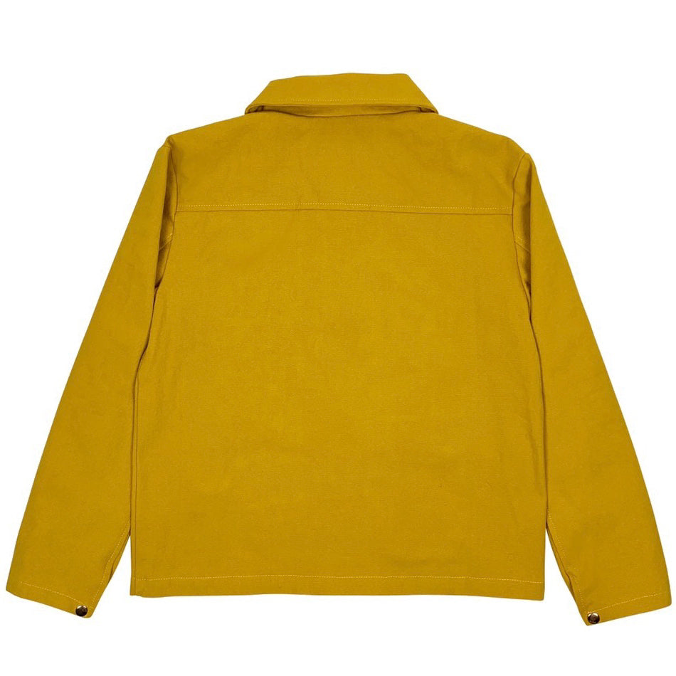 bled clothing Bledwear mustard yellow mens jacket cargo pocket streetwear