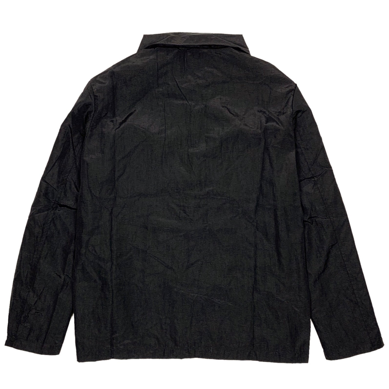 bled clothing nylon jacket overshirt black bledwear streetwear