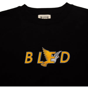 Bled sweatshirt featuring BLED dove design embroidered on the front. Premium soft cotton. Box Logo, skateboards, hype, streetwear, skateboarding, skate