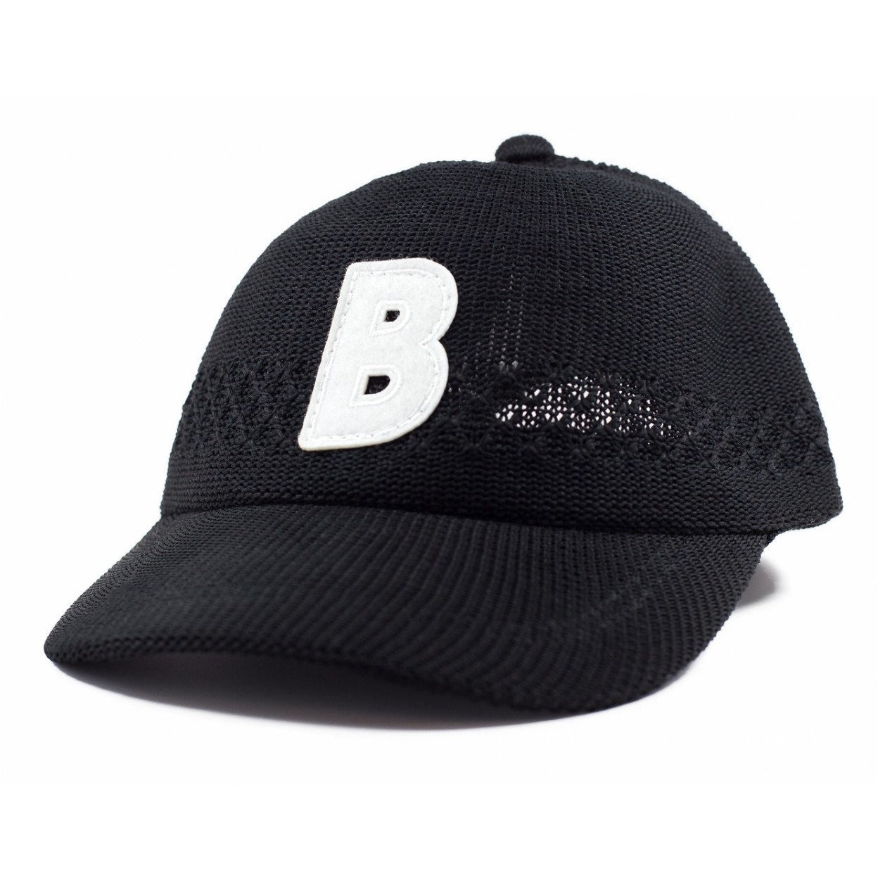 6-panel unconstructed Cotton african black mesh dad hat featuring BLED letter logo felt patch on the front and BLED logo embroidered on the back with adjustable strap closure. skate, skateboarding, hype, streetwear