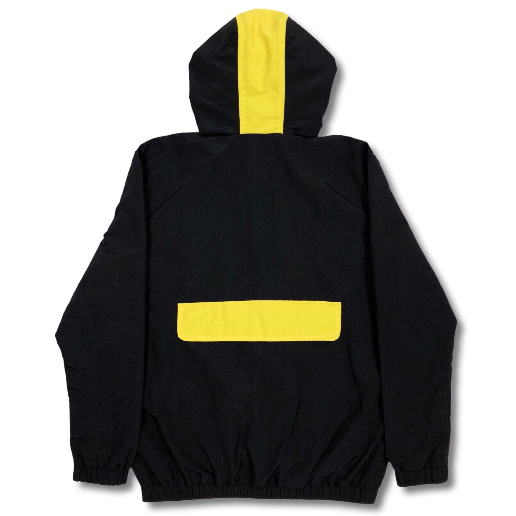 Stealth Hooded Tracksuit Jacket - Black/Yellow Bledwear Bled