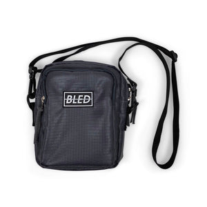 Bled bledwear Crossbody Streetwear Shoulder Sling Waist Bag Grey bodybag