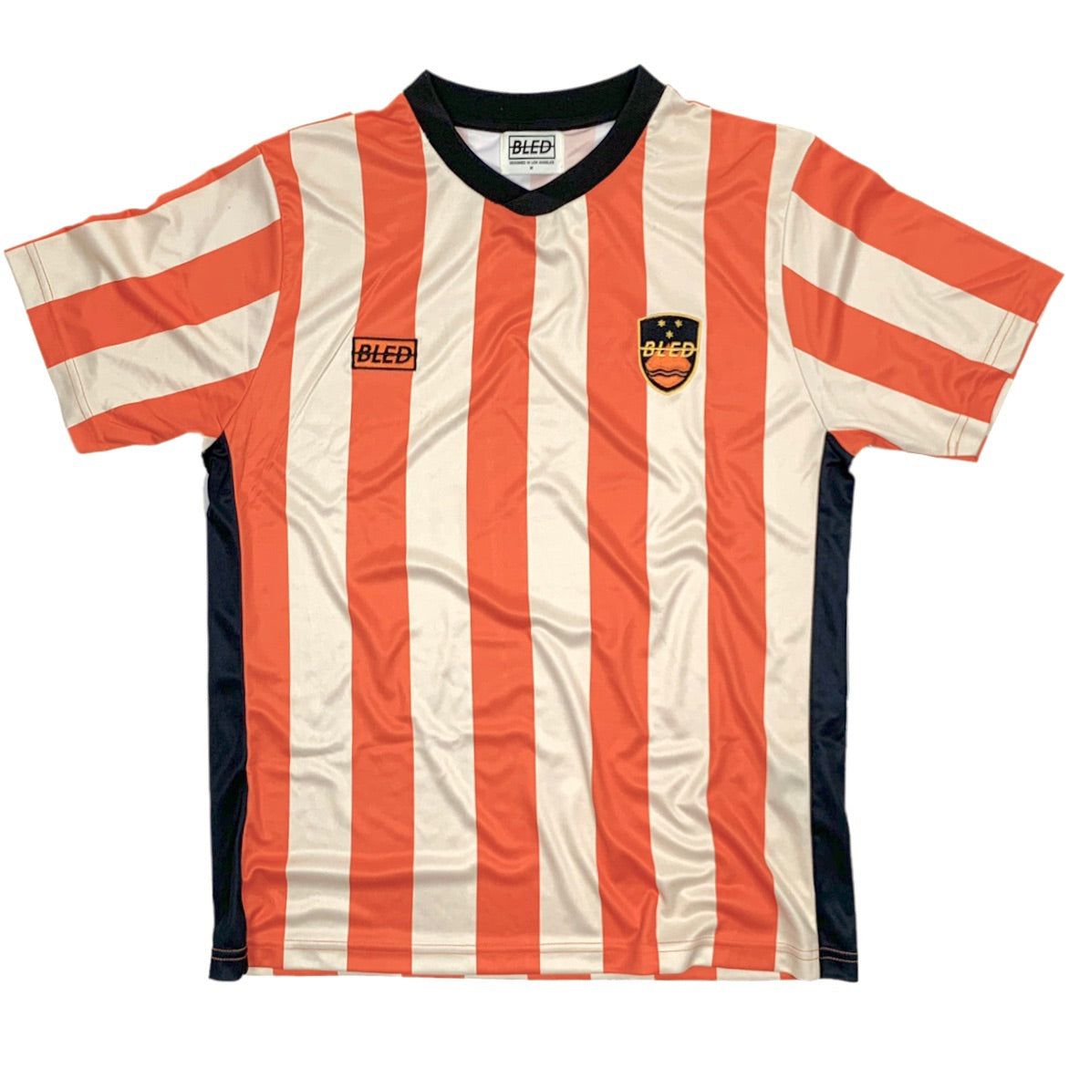 Footballer Training Jersey - Orange/Cream