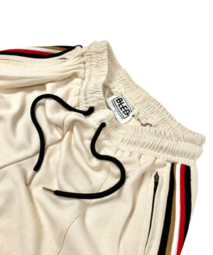 Taped Runner Track Pant - Cream