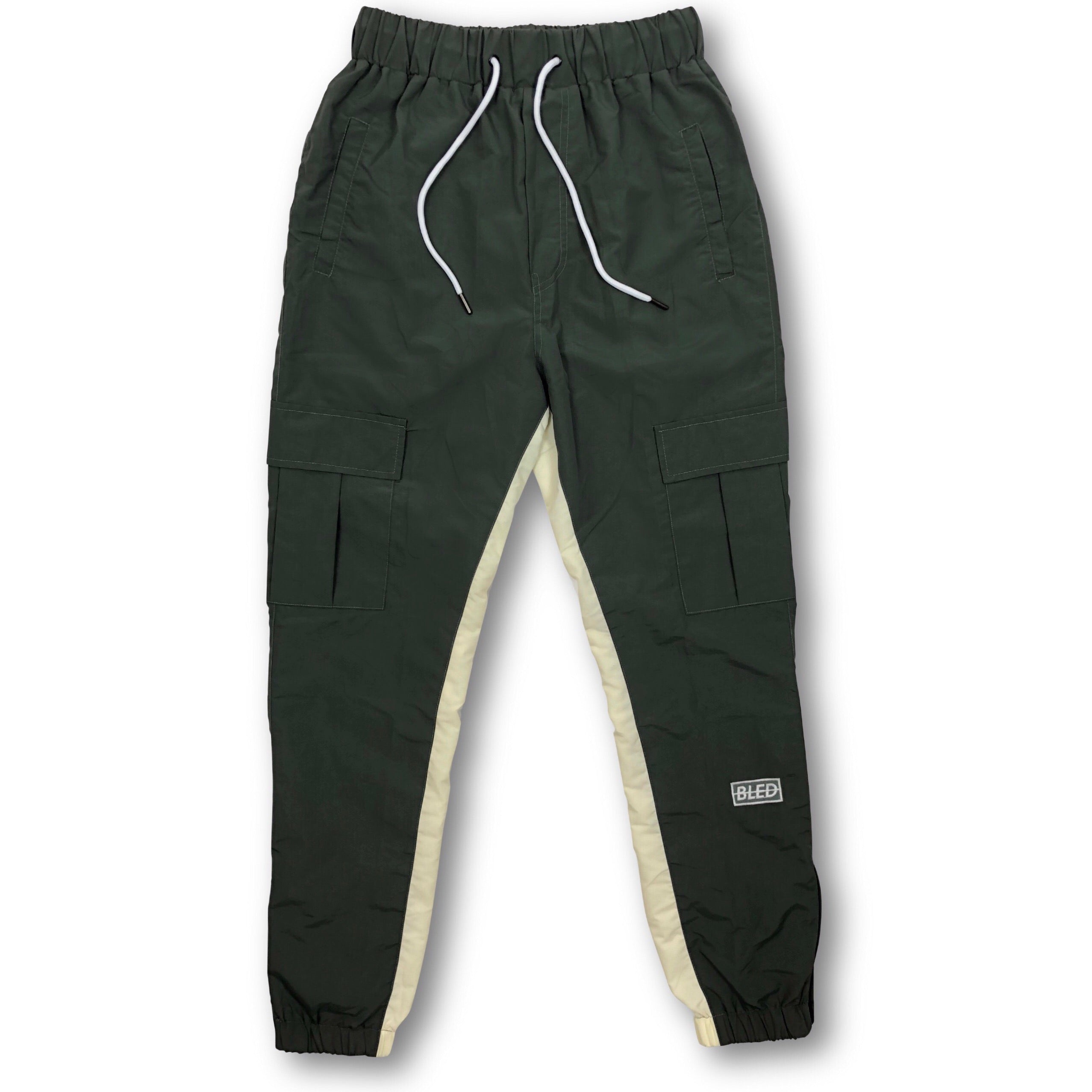 Bled Bledwear Tracksuit Track Pant Cargo Pocket Nylon Streetwear Stealth Hypebeast Highsnobiety
