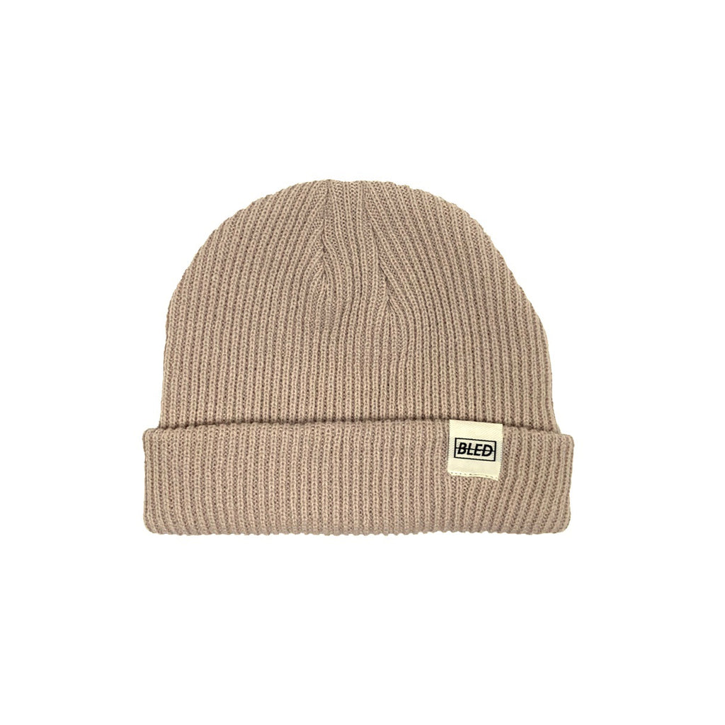 bled bledwear fisherman beanie beige tan camel streetwear hypebeast accessories mens headwear grailed