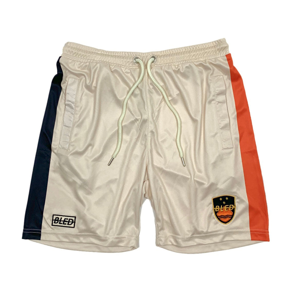 Footballer Training Shorts - Orange/Cream