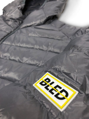 bled clothing bledwear los angeles streetwear windbreaker puffer jacket