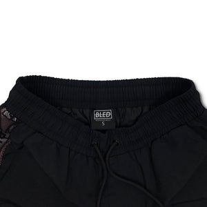 Bled Bledwear Coral Pink Black White Tracksuit Shorts Short Hypebeast Streetwear