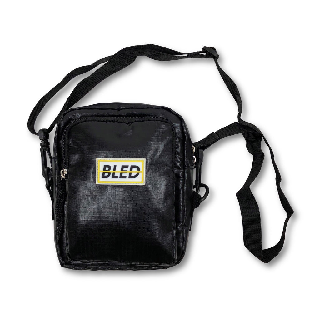 Bled Bledwear Bodybag Crossbody Streetwear Shoulder Hypebeast Sling Waist Bag - Black
