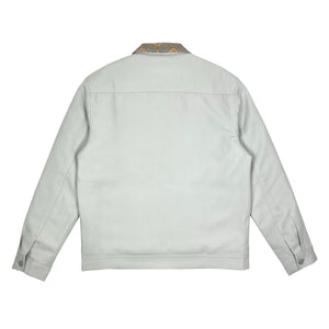Mosaic Work Jacket - Cloud Gray
