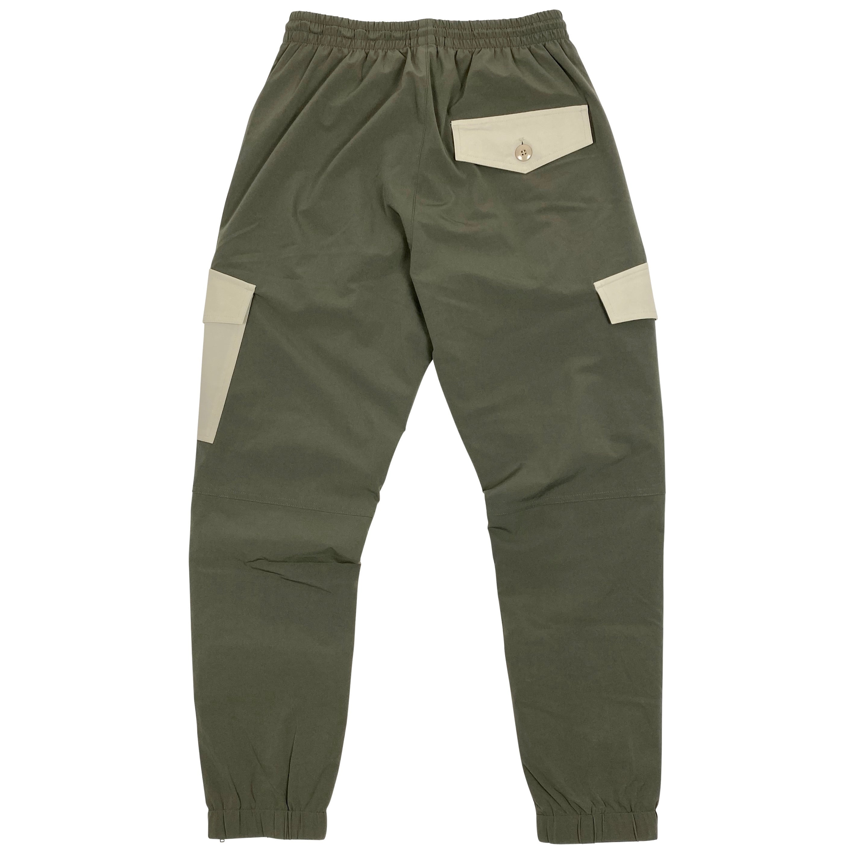 Angled Cargo Pant - Matte Olive