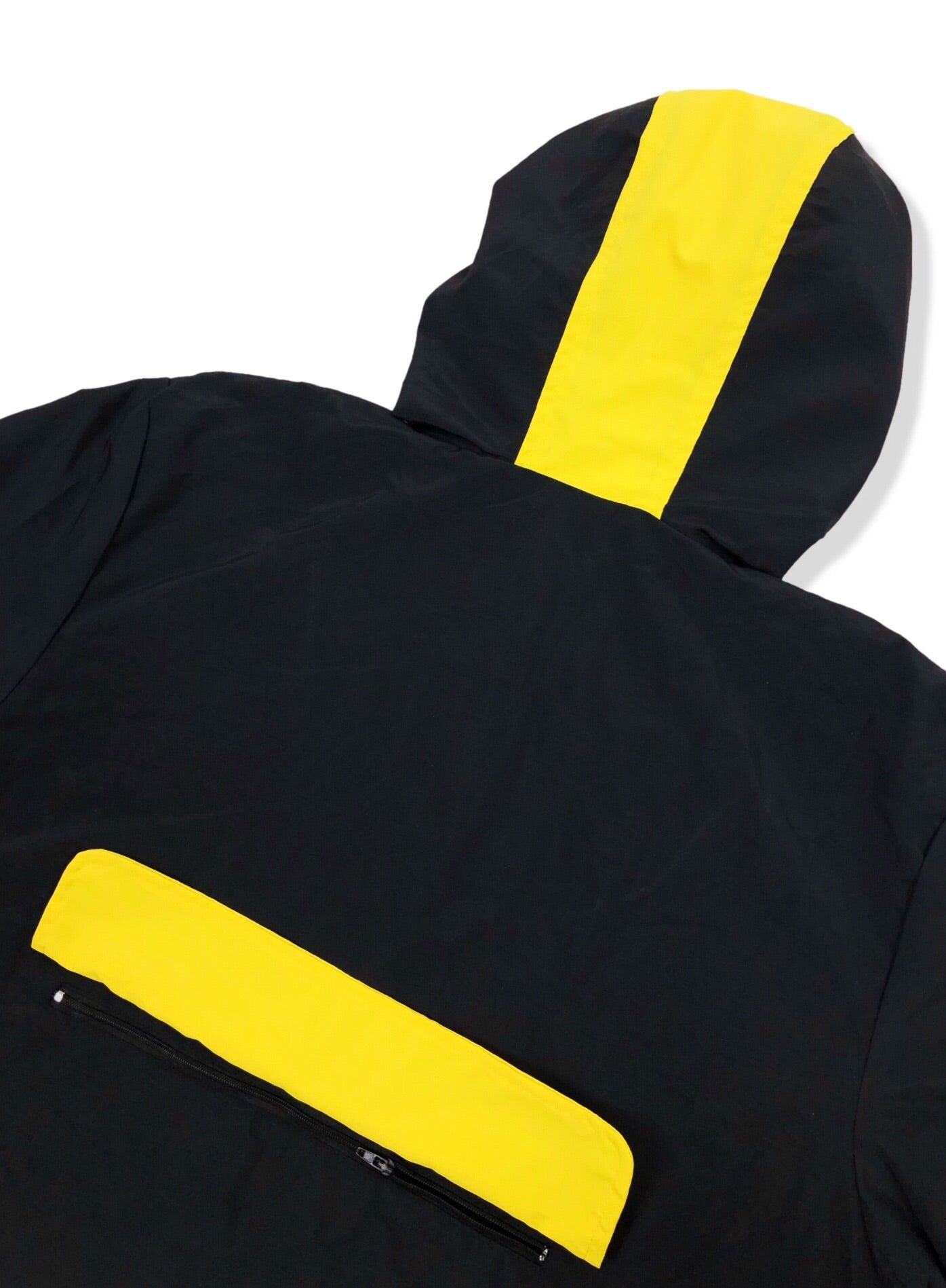 Stealth Hooded Track Jacket - Black/Yellow Bledwear Bled