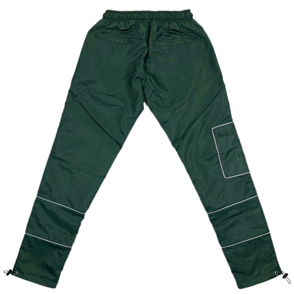 Reflective Nylon Pant - Brunswick Green